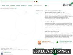 Miniaturka domeny www.osmo.com.pl