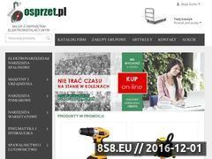 Miniaturka domeny www.osprzet.pl