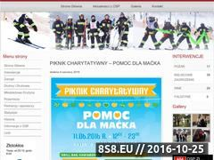 Miniaturka domeny www.ospzlotoklos.pl
