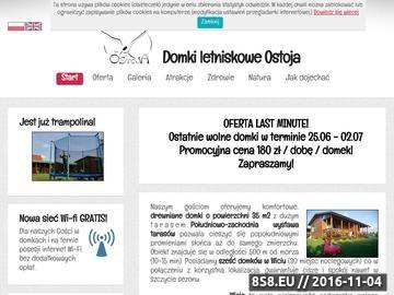 Zrzut strony Domki letniskowe Ostoja - Wicie