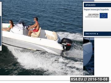 Zrzut strony Ostróda Yacht - łodzie motorowe