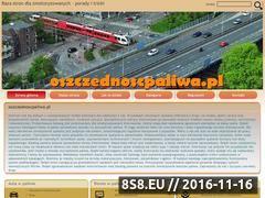 Miniaturka domeny www.oszczednoscpaliwa.pl