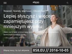Miniaturka domeny www.oticon.pl