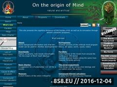Thumbnail of On the origin of Mind - Otoom Website
