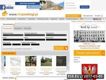 Zrzut strony Sprzedaż nieruchomości