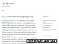 Miniaturka domeny www.otorachunki.pl