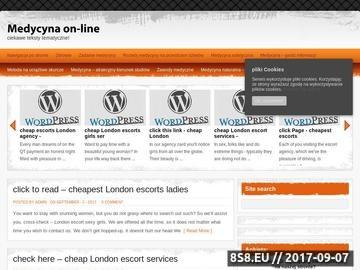 Zrzut strony Informacje o Tunezji