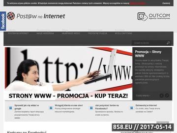 Zrzut strony Agencja Interaktywna projektowanie stron, facebook aplikacje, pozycjonowanie