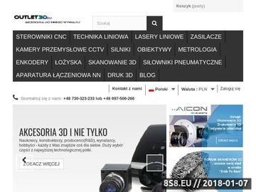 Zrzut strony Sterowniki CNC