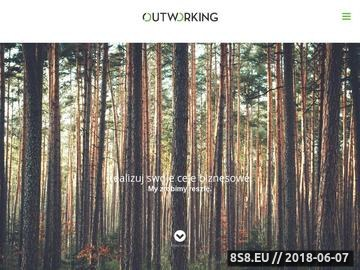 Zrzut strony Outworking - outsourcing HR