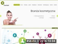 Miniaturka domeny www.overlack.com.pl