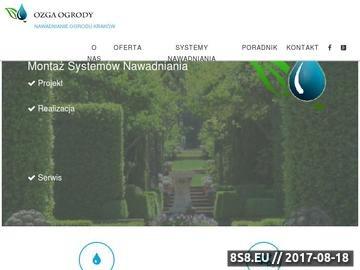 Zrzut strony Nawadnianie Kraków