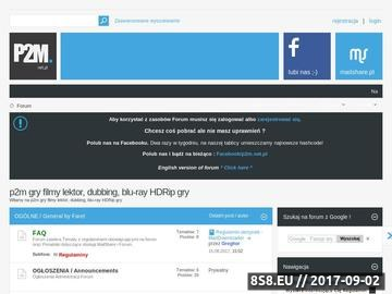 Zrzut strony Forum technologii peer2mail, mailshare