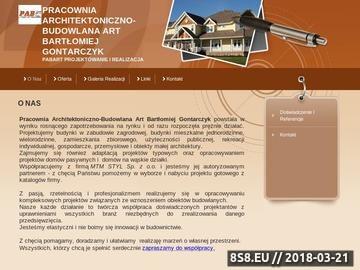 Zrzut strony PABart architekt