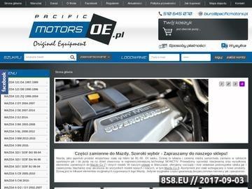 Zrzut strony Sklep Mazda Warszawa