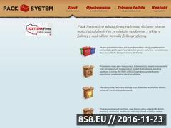 Miniaturka domeny www.pack-system.eu