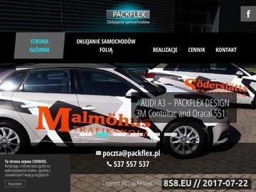 Zrzut strony Oklejamyautofolia.pl - oklejanie samochodów