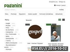 Miniaturka domeny www.paganini.com.pl