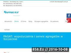 Miniaturka domeny www.pagat.com.pl