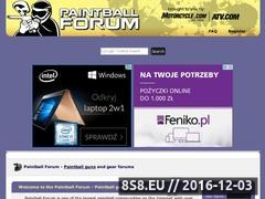 Paintball Forum Website