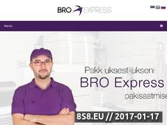 Thumbnail of BRO Express - international courier service Website