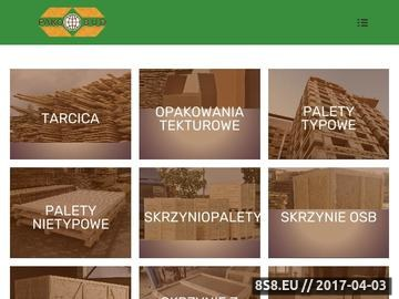 Zrzut strony Pako-bud.pl - konstrukcje drewniane