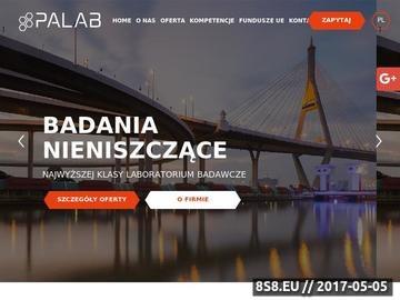 Zrzut strony Badania magnetyczno proszkowe PALAB