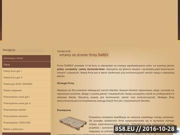 Zrzut strony Palety - P.H.U. DAREX - produkcja, sprzedaż palet drewnianych
