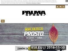 Miniaturka domeny www.palmasport.pl
