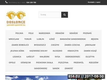 Zrzut strony Dosłońce - pamiątki, upominki i gadżety z Polski