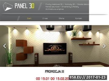 Zrzut strony Panele dekoracyjne 3D MDF