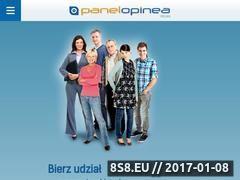 Miniaturka domeny www.panelopinea.pl