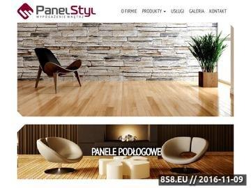 Zrzut strony Kamień dekoracyjny PanelStyl
