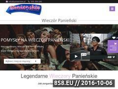 Miniaturka domeny www.panienskie.pl