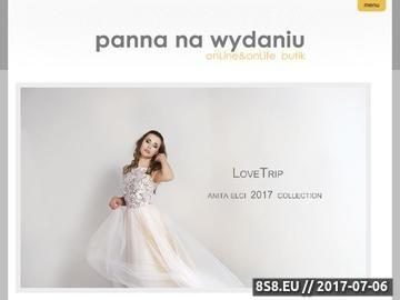 Zrzut strony Salon sukien ślubnych Łódź