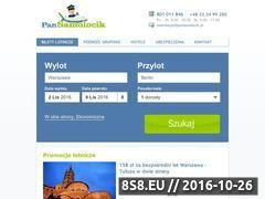 Miniaturka domeny www.pansamolocik.pl