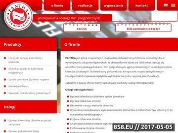 Zrzut strony Introligatornia Warszawa|oprawa spiralna, oprawa listwowa, okienka do kalendarzy