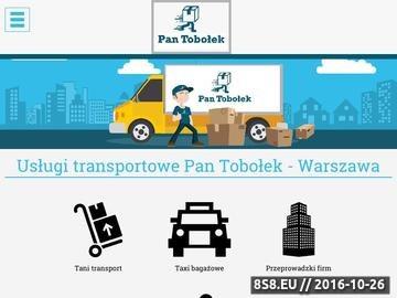 Zrzut strony Firma przeprowadzkowa Warszawa - usługi transportowe