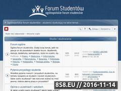 Miniaturka Forum Studenckie (www.pap.edu.pl)