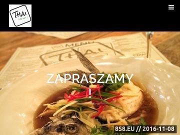 Zrzut strony Restauracja Warszawa