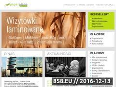 Miniaturka domeny www.paperplane.pl