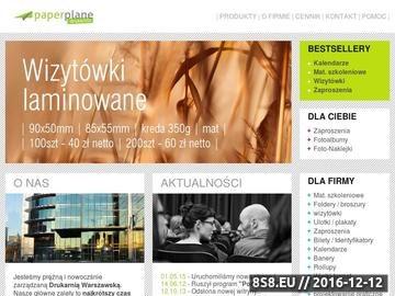 Zrzut strony Drukarnia Cyfrowa Warszawa