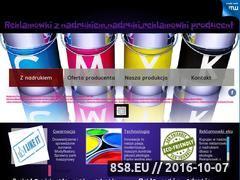 Miniaturka domeny papfol-reklamowki.mywebzz.com