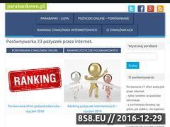 Miniaturka domeny parabankowo.pl