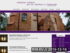 Miniaturka domeny www.parafia-tomice.pl