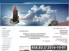 Miniaturka domeny www.parafia.zachowice.pl