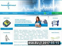 Miniaturka domeny paramedicgroup.pl