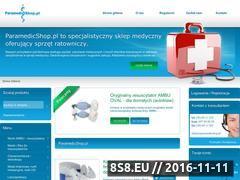 Miniaturka domeny paramedicshop.pl