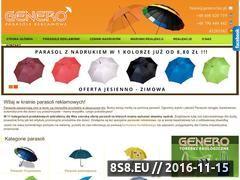 Miniaturka domeny www.parasole-reklamowe.biz.pl