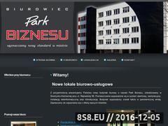 Miniaturka domeny www.parkbiznesu.pl